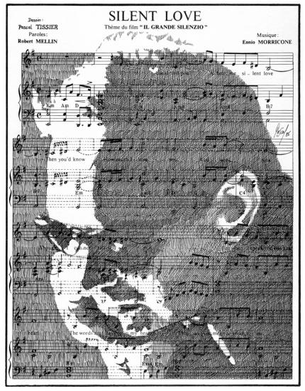 Ennio Morricone par Pastis